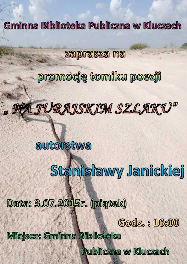 Więcej o: Tomik poezji Pani Janickiej – plakat