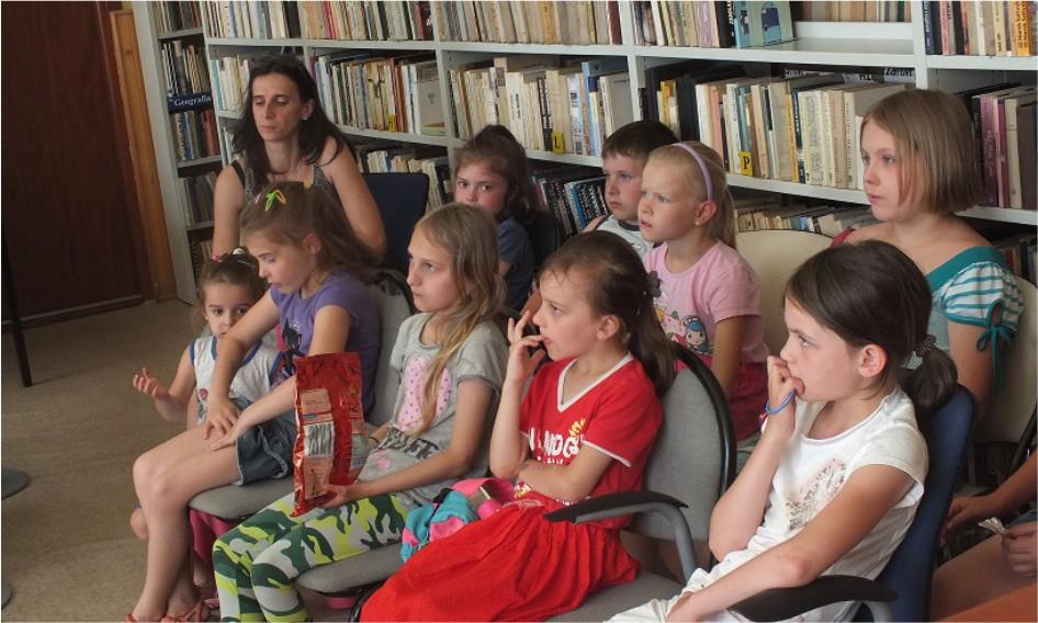 Więcej o: Wakacje z biblioteką