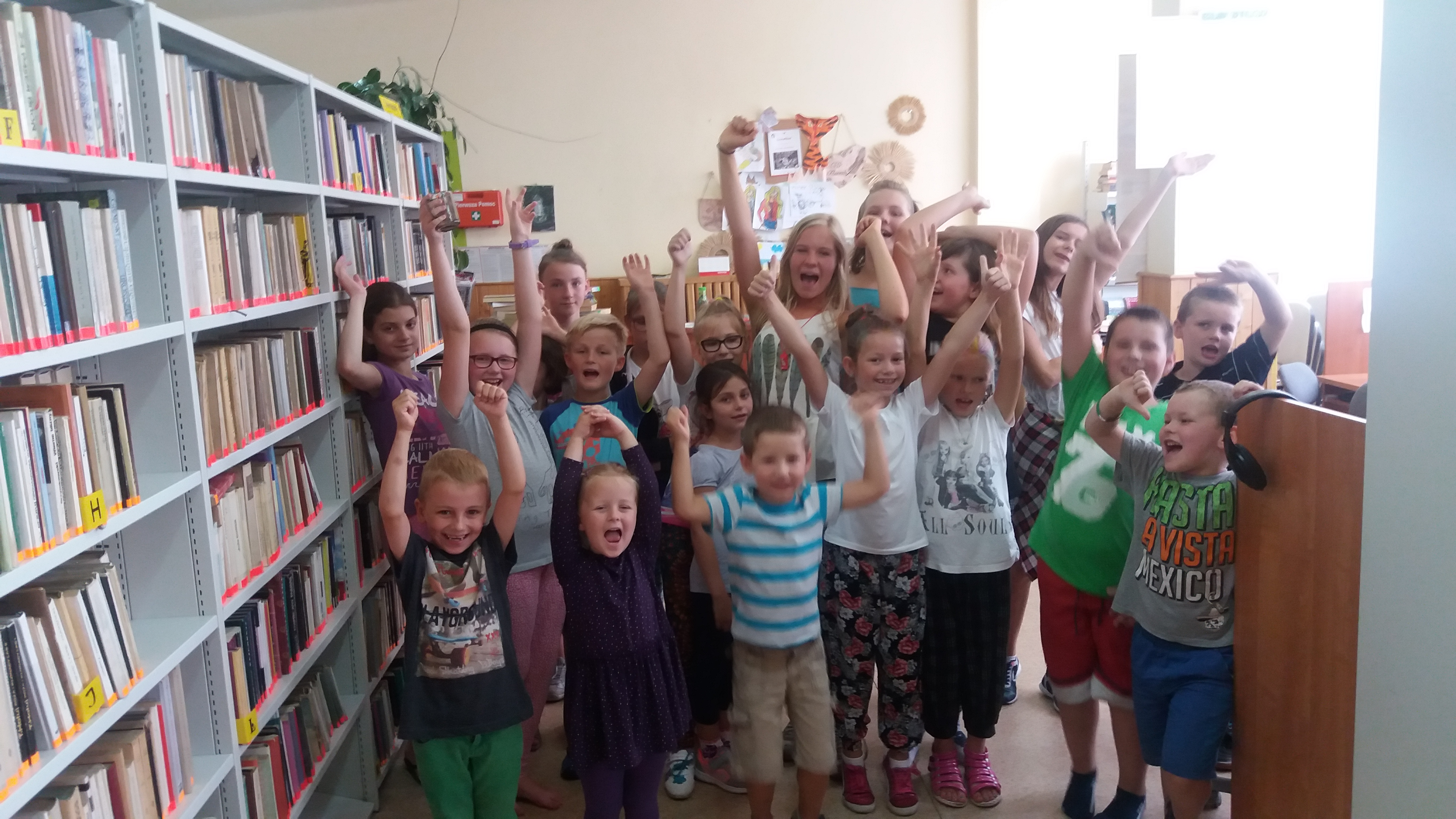 Więcej o: Gry i zabawy ruchowe w bibliotece