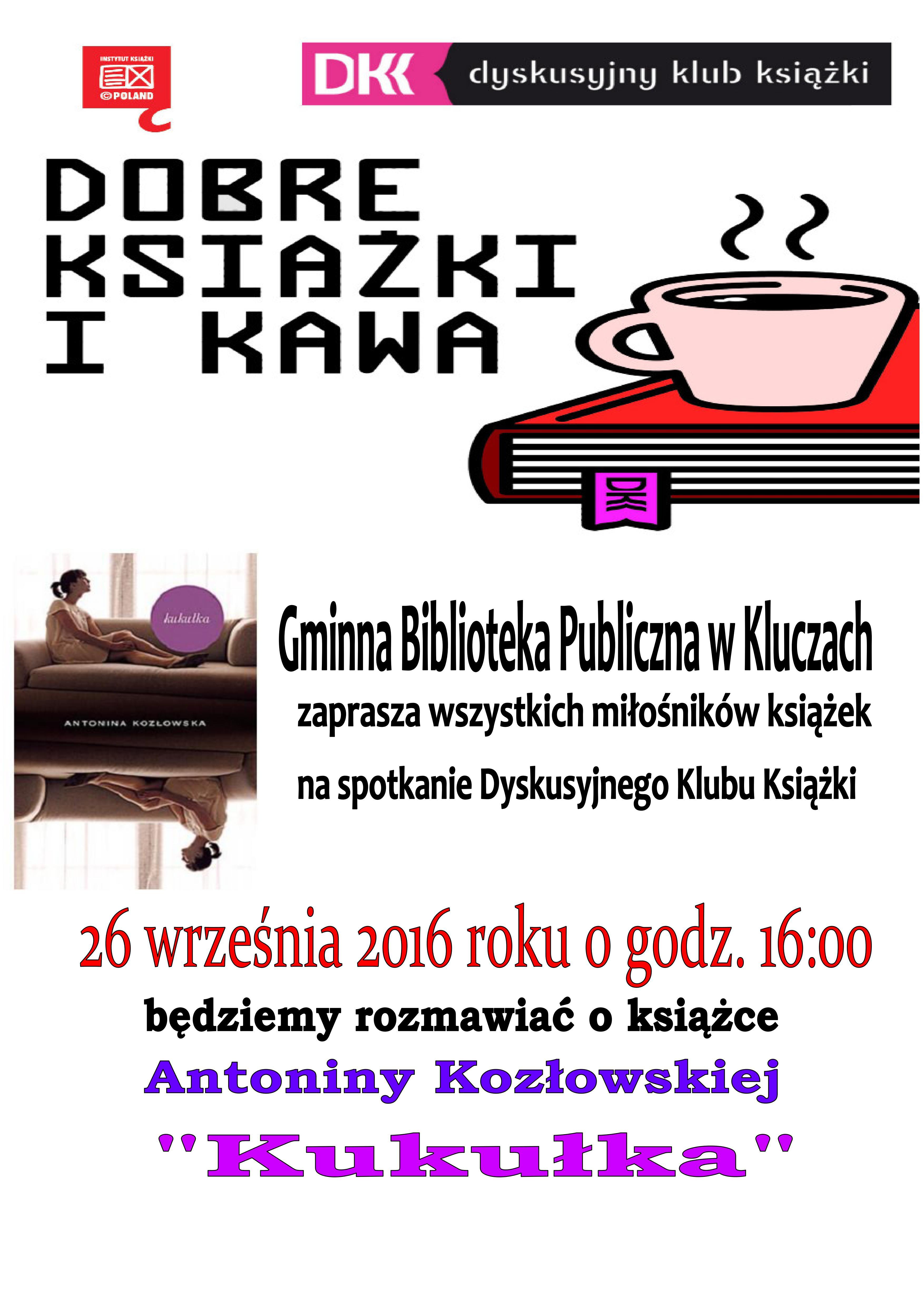 """Więcej o: """"Kukułka"""" w Dyskusyjnym Klubie Książki"""