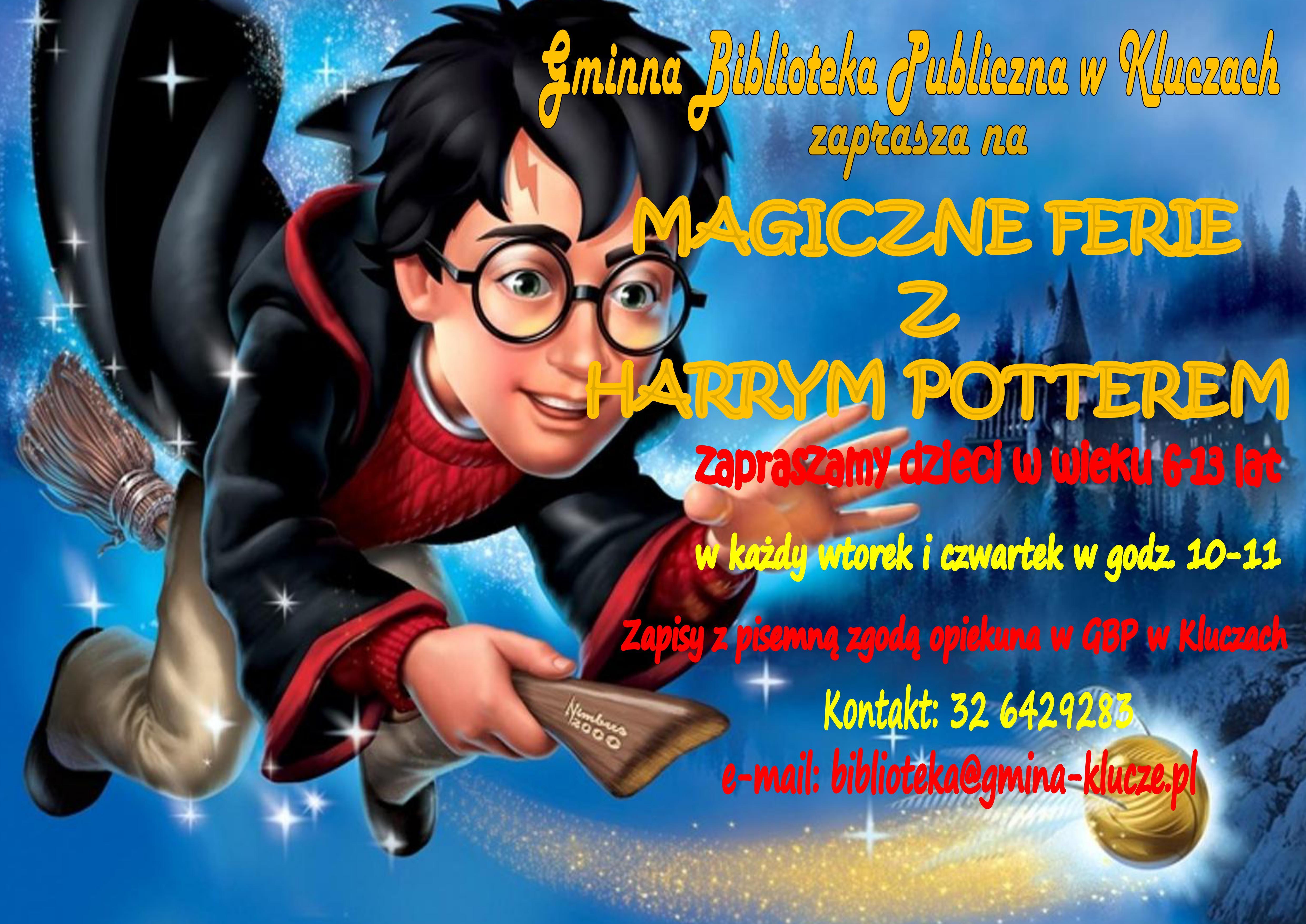 Więcej o: Magiczne ferie z Harrym Potterem w GBP w Kluczach