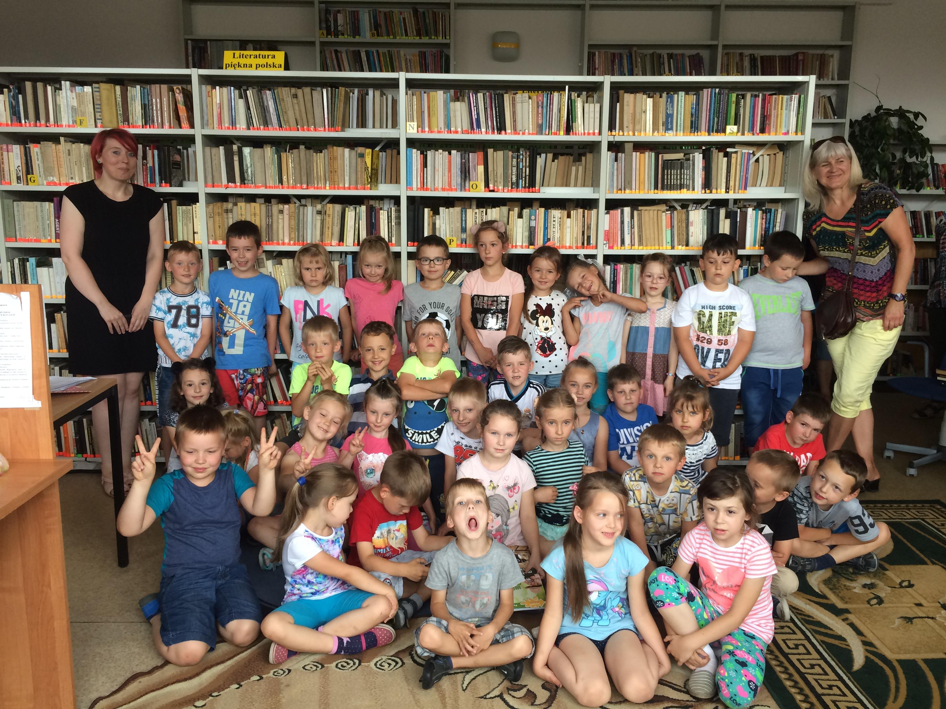 Więcej o: Poznajemy bibliotekę – lekcja biblioteczna