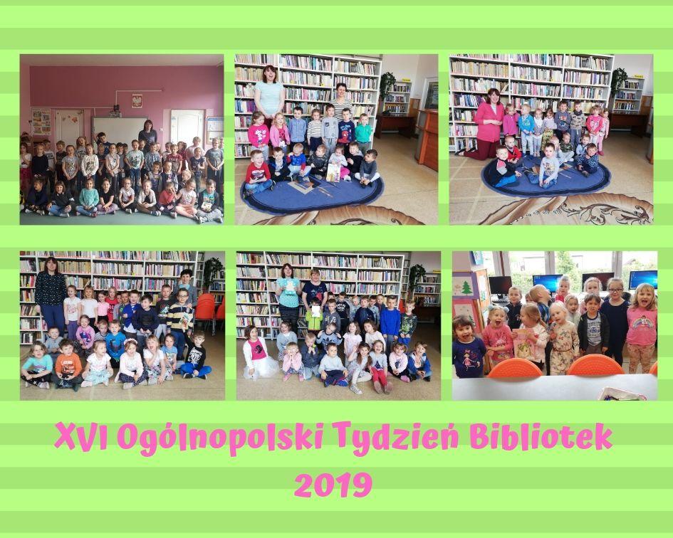 Więcej o: Ogólnopolski Tydzień Bibliotek 2019