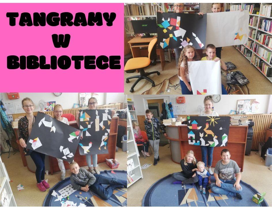Więcej o: Tangramy w bibliotece :)