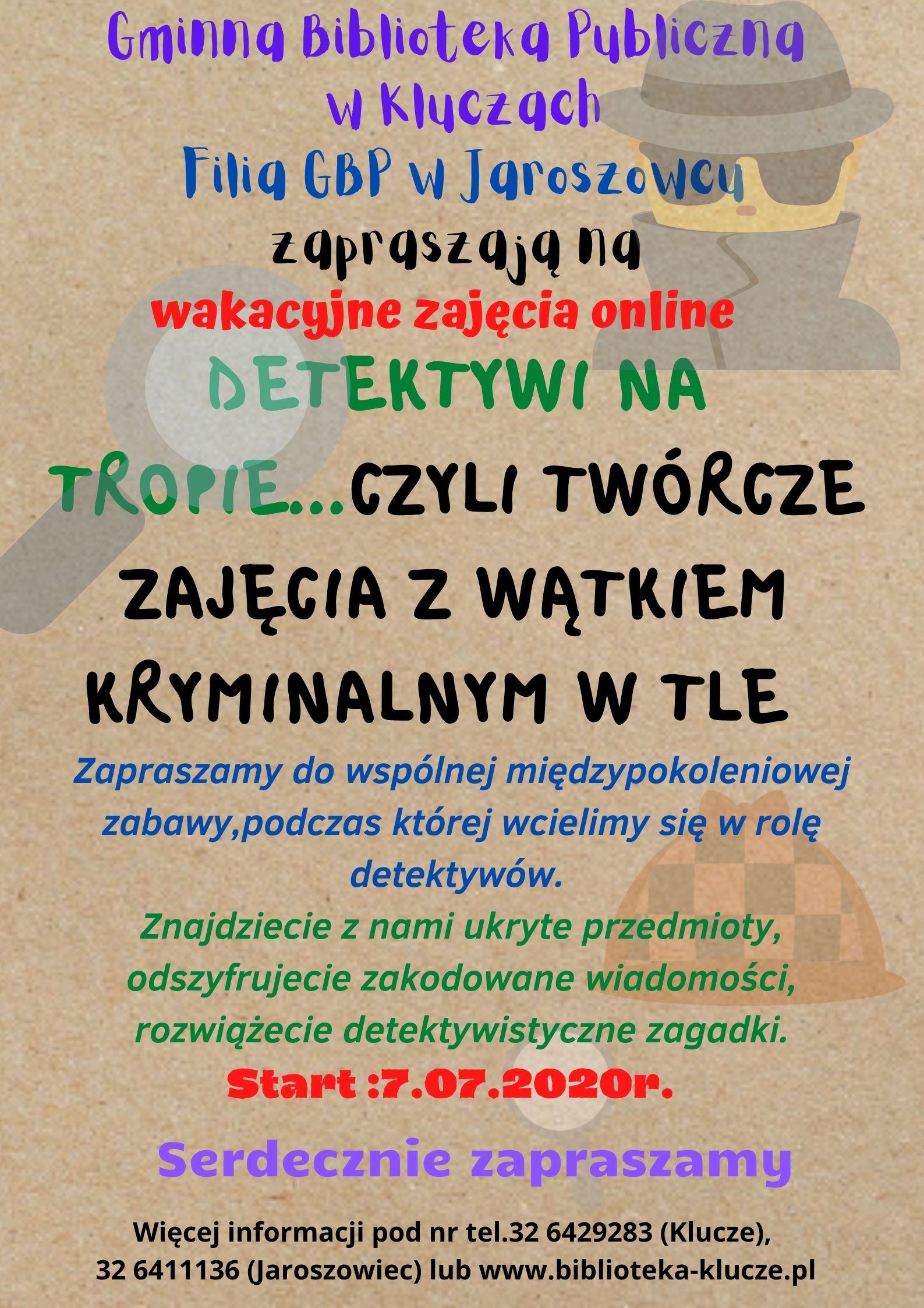 Więcej o: Wakacje w GBP w Kluczach i filią w Jaroszowcu
