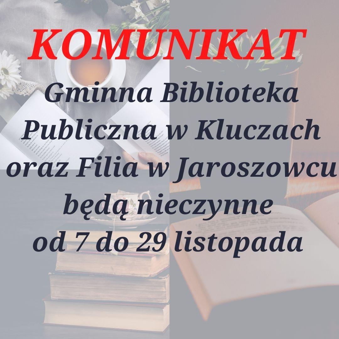 Więcej o: Biblioteka nieczynna